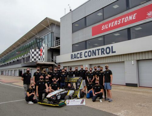Sponsor of the Sheffield University Formula Student Team